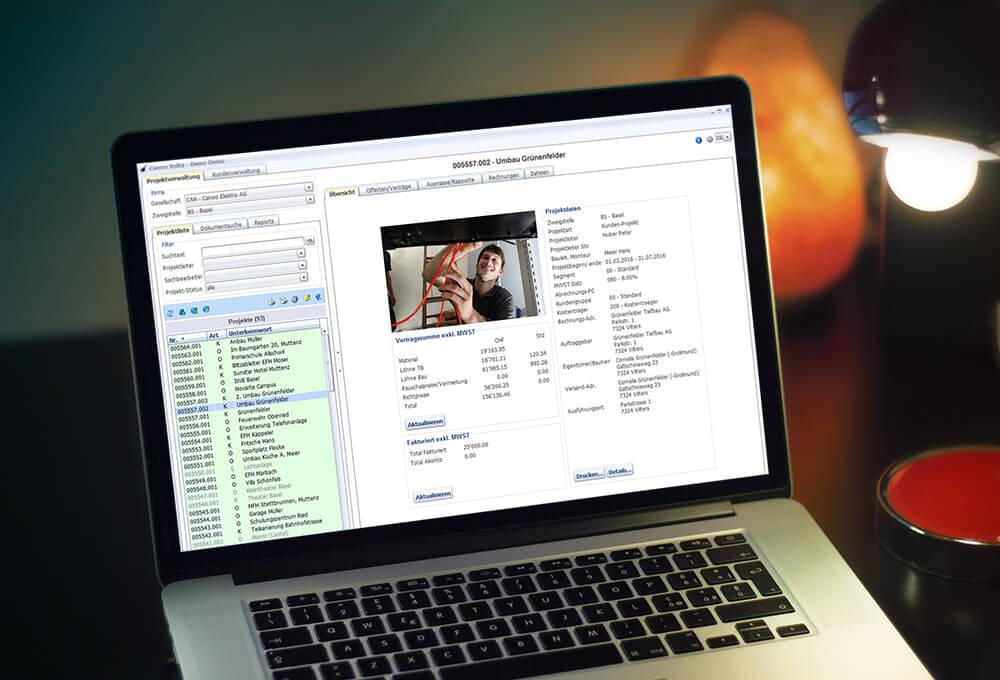 MacBook Pro mit Volta Projekte
