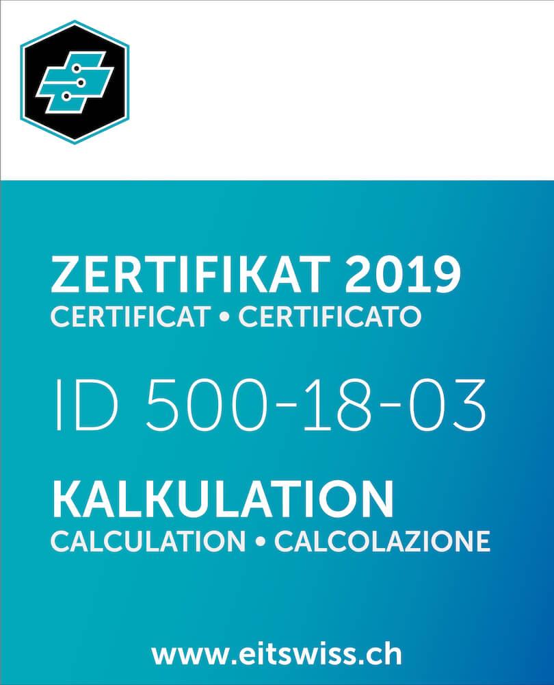 eit.swiss Zertifikat