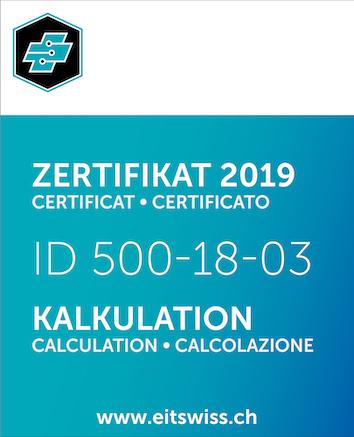 Zertifikat EIT.swiss